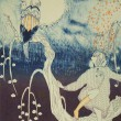 ドイツのクラバート伝説と昔読んだそれを題材にした児童文学からのイメージ。【54×39.4cm/リトグラフ】