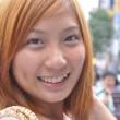 彼女との会いは二年前のことだ。初め彼女に会ったとき、この目と笑顔にすっかり引き付けられた。今、彼女のことと言ったら、あの時の目と笑顔の思いが出した。【A3 42cm×29.7cm2点/写真】