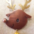 淺川涼子:クリスマスプレゼント - クリスマスの主役たちをモチーフにブローチを制作しました。 - 2011年 横浜美術短期大学クラフトデザインクラス専攻科 卒業【50×40㎜/銅、真鍮】