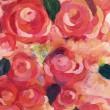齋藤 歌織:notitle - 2012年女子美術大学卒業, 2013〜2015年ヨコハマ薔薇展、ハッピークリスマス展参加【530×455ミリ/アクリル、水彩】